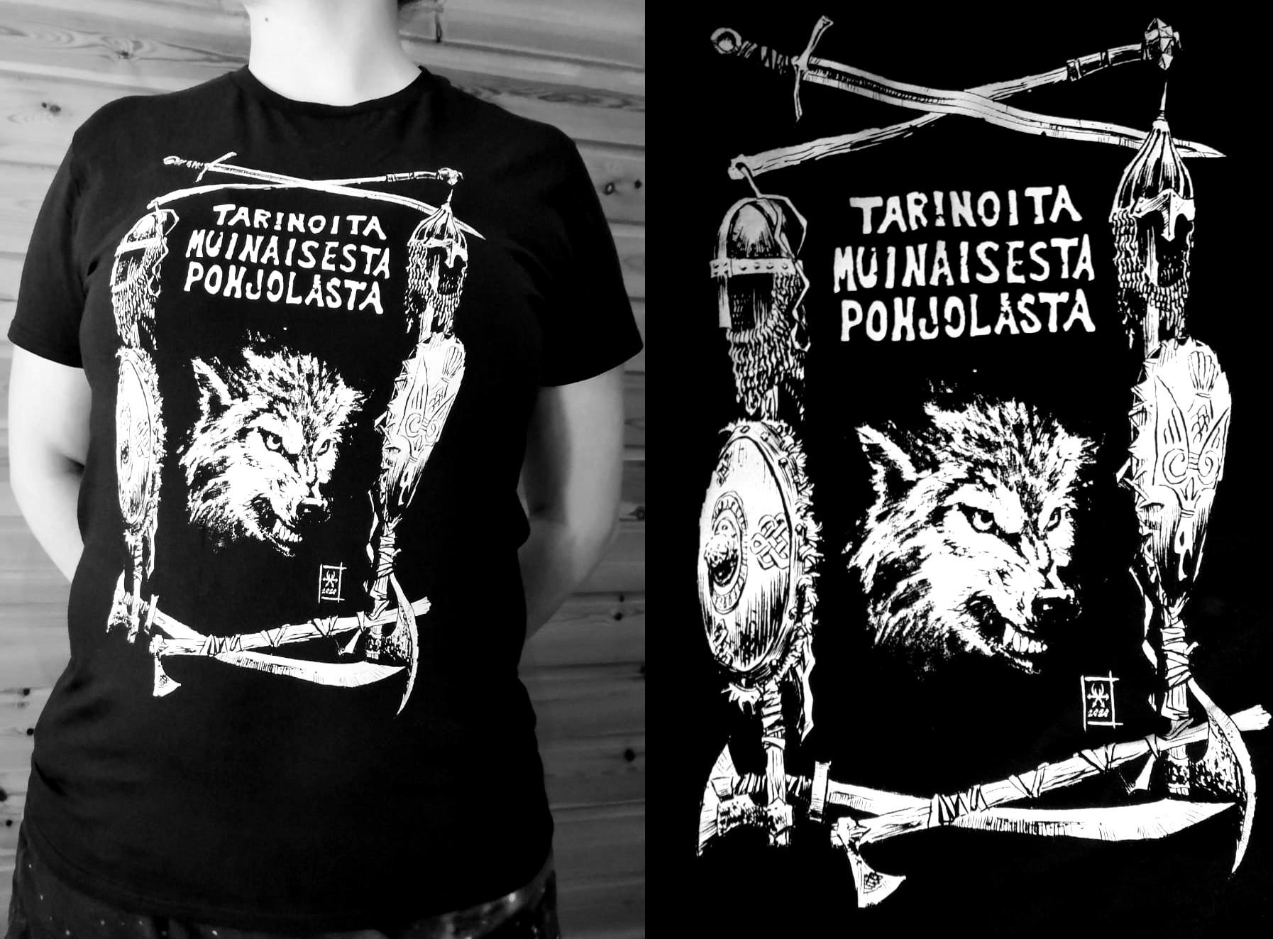 Tarinoita muinaisesta Pohjolasta -t-paita